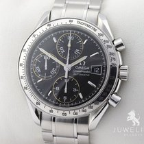 Omega SPEEDMASTER DATE 39mm STAHL AUTOMATIK PAPIERE Revision...