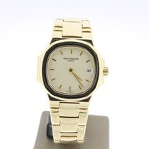 Patek Philippe Nautilus Lady yellowGold 25mm CremeDial...