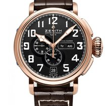 Zenith Pilot Type 20 Annual Calendar new 2019 Automatic Watch with original box and original papers 87.2430.4054/21.C721