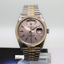 Rolex 36mm Automatik 1986 gebraucht Day-Date 36 Grau