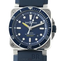 Bell & Ross BR 03-92 Steel Steel 42mm Blue United States of America, New York, New York