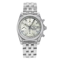 Breitling Chronomat 38 Steel 38mm Mother of pearl No numerals United States of America, New York, NYC