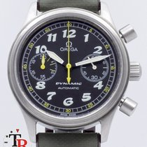 Omega Dynamic Chronograph Stal 37mm Czarny Arabskie