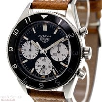 TAG Heuer Autavia Chronograph Ref-CBE-2110-FC8226 Stainless...