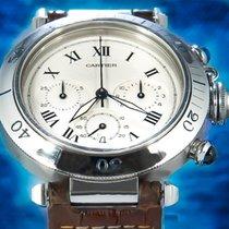 Cartier Pasha (Submodel) tweedehands 40mm Staal