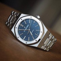 Audemars Piguet Royal Oak Selfwinding Steel 41mm Blue No numerals Singapore, Singapore