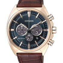 Citizen Steel 45mm Quartz CA4283-04L new