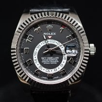 Rolex 326139 White gold Sky-Dweller 42mm pre-owned United States of America, Florida, Aventura