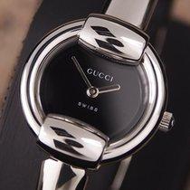 Gucci Steel Quartz Black 26mm pre-owned