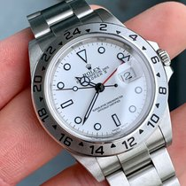 Rolex Explorer II Acero 39mm Blanco