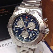 Breitling Colt Chronograph Steel 44mm Blue No numerals United Kingdom, Wilmslow