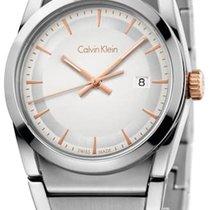 ck Calvin Klein Steel 30mm Quartz K6K33B46 new