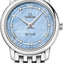 Omega De Ville Prestige Steel 27.4mm Mother of pearl United States of America, New York, Airmont