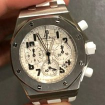 Audemars Piguet Royal Oak Offshore Lady Staal 37mm Wit Arabisch Nederland, Amsterdam