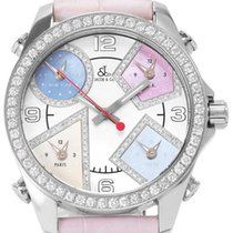 Jacob & Co. Women's watch Five Time Zone 41mm Quartz pre-owned Watch only 2008