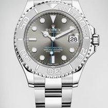 Rolex Yacht-Master 40 Platinum 40mm Grey No numerals