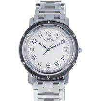 Hermès Clipper Stahl 36mm