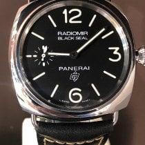 Panerai Radiomir Black Seal Stahl 45mm Schwarz Arabisch Deutschland, Düsseldorf