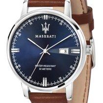 Maserati Stahl 42mm Quarz R8851130003 neu