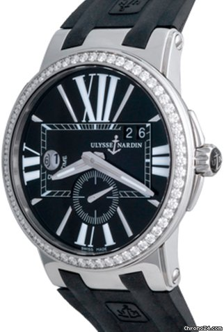 Ulysse Nardin Executive Dual Time 243-00B-3-42 pre-owned