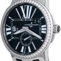 Ulysse Nardin Executive Dual Time Steel 43mm Black Roman numerals United States of America, Texas, Dallas