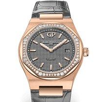 Girard Perregaux Laureato 80189D52A232-CB6A Girard Perregaux Oro Rosa Dial Grigio new