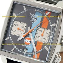 TAG Heuer Monaco Gulf Limited Edition Grey Dial Cal. 12