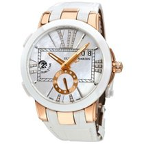 Ulysse Nardin 246-10-3/391 Rose gold Executive Dual Time Lady 40mm new