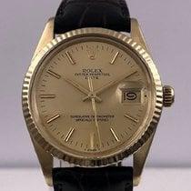 Rolex vintage 1983 DATE gold 18ct ref 15037