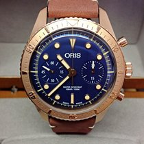 Oris Carl Brashear Chronograph Bronze Limited Edition - Unworn
