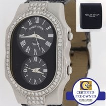 Philip Stein Ladies Philip Stein Stainless Steel Dual Time...