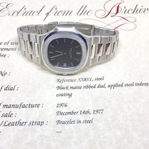 Patek Philippe Nautilus Jumbo 42mm 1976 Fat Links Steel 3700...