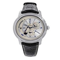 Audemars Piguet Millenary Platinum 47mm Blue Arabic numerals