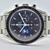 Omega Chronograph 42mm Manual winding pre-owned Speedmaster (Submodel) Black