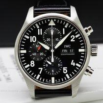 IWC Chronograph 43mm Automatic Pilot Chronograph Black