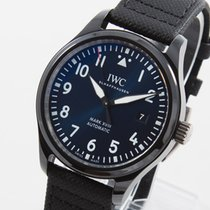 IWC Pilot Mark Ceramika 41mm Niebieski Arabskie