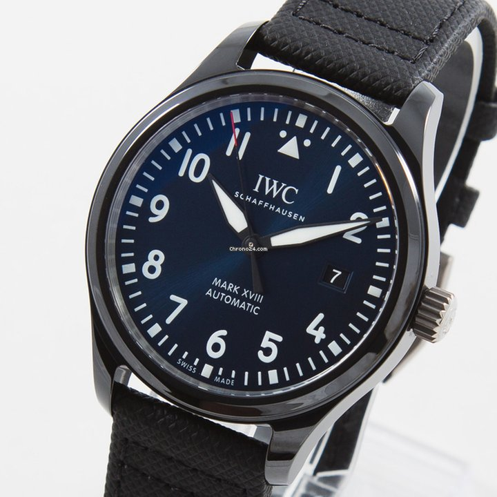 new style c23ab a9f62 IWC Pilot Mark XVIII Edition