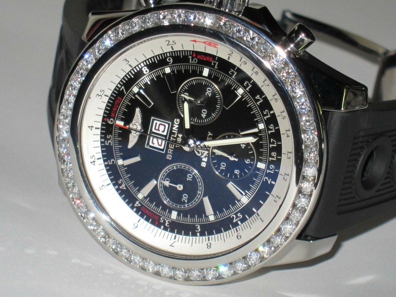 Breitling Bentley 6 75 A44362 Breitling Reference Ref Id A44362 Watch At Chrono24