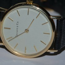 Tiffany Yellow gold 32mm Manual winding pre-owned