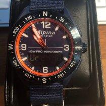 Alpina 45mm Cuarzo 2019 nuevo Alpiner Azul