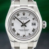 Rolex Lady-Datejust Steel 26mm White Roman numerals United States of America, Massachusetts, Boston
