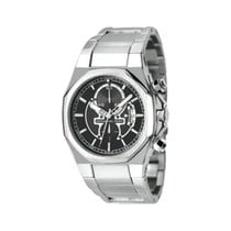 Officina del Tempo Steel 46mm Quartz OT1028/12N new