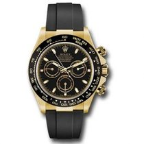 Rolex Daytona Oro amarillo 40mm Negro