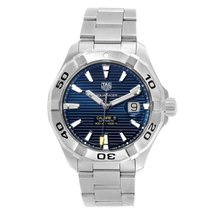 TAG Heuer Aquaracer 300M pre-owned 43mm Blue Date Steel