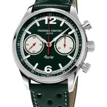 Frederique Constant Vintage Rally Steel 42mm Green