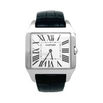Cartier Santos Dumont Or blanc 44mm Champagne France, Paris