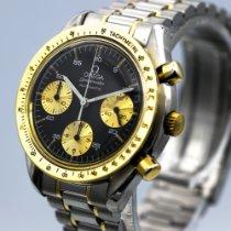 Omega Speedmaster Reduced Acero y oro 39mm Negro Sin cifras
