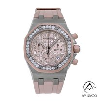 Audemars Piguet Royal Oak Offshore Lady Steel 37mm Pink No numerals United States of America, New York, New York