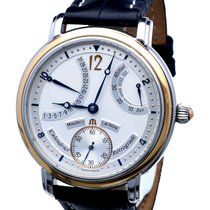 Maurice Lacroix Masterpiece Retrograde Calendrier Gold Steel...
