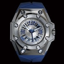 Linde Werdelin Titan Automatik Transparent Arabisch 46mm neu Oktopus BluMoon
